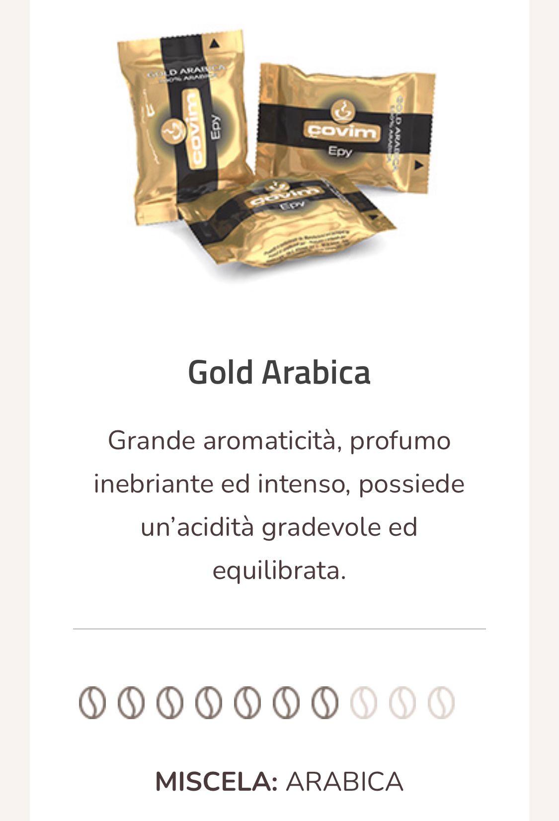 Caffè Gold point compatibili 50 capsule